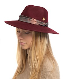 Paisley Scarf Band Panama Hat