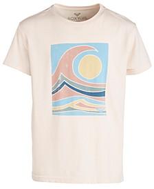 Big Girls Ocean-Print Cotton T-Shirt