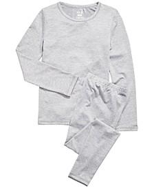 Little & Big Girls 2-Pc. Base Layer Top & Pants Set