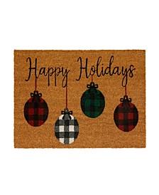 Farmhouse Living Rustic Ornaments Coir Doormat