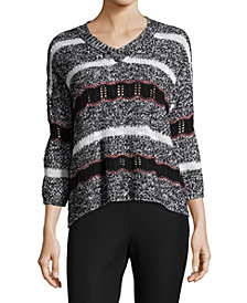 John Paul Richard Multi-Stitch Sweater