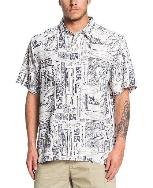 Quiksilver  Quiksilver Men's Vaianae Bay Shirt