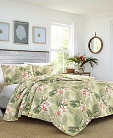 Tommy Bahama Tropical Orchid King Quilt Sham Set