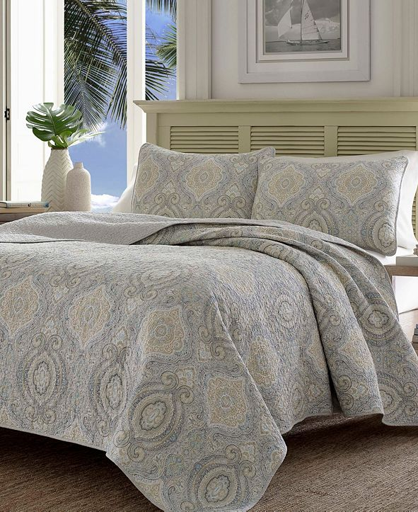 Tommy Bahama Home Tommy Bahama Turtle Cove Twin Quilt Sham Set