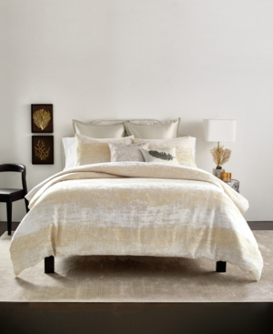 Closeout! Michael Aram Texture King Duvet Set Bedding