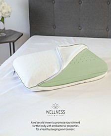 Calming Aloe Vera Infused Memory Foam Pillow