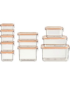 22-Piece Food Storage Container Deluxe Pack
