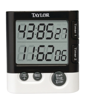 Taylor Precisionl Products Dual-Event Digital Timer/Clock