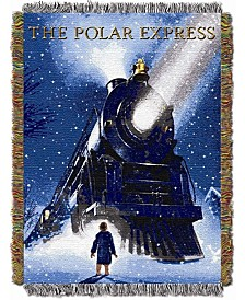 The Polar Express Tapestry Throw