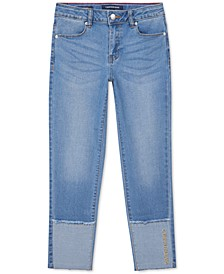 Big Girls Cuffed Boyfriend Jeans