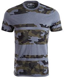 Men's Blocked Camo T-Shirt, Created For Macy's