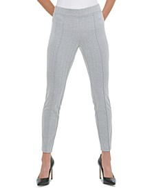 Front-Seam Pull-On Pants