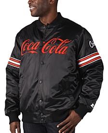Men's Coca-Cola Satin Twill Bomber Jacket