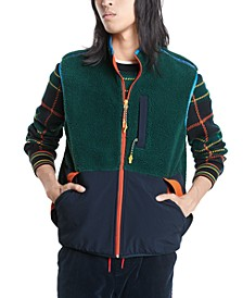 Men's Hiker Sherpa Vest, Created For Macy's