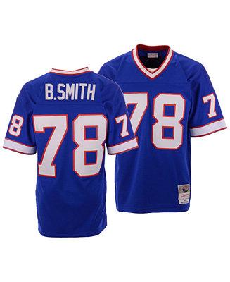 Mitchell & Ness Men's Bruce Smith Buffalo Bills Replica Throwback Jersey & Reviews - Sports Fan Shop By Lids - Men - Macy's