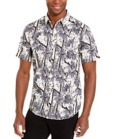 Men's Woodland Print Shirt, Created For Macy's