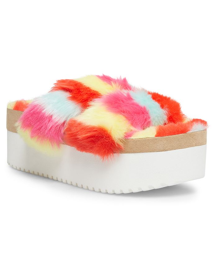 Madden Girl - Furbeee Flatform Sandals
