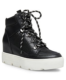 Negan Lace-Up Hiker Wedge Sneakers