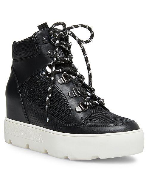 Negan Lace Up Hiker Wedge Sneakers