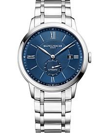 Men's Swiss Automatic Classima Stainless Steel Bracelet Watch 42mm