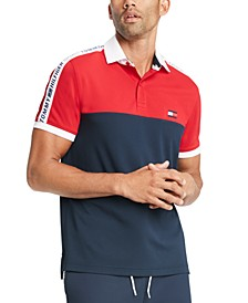 Men's Big & Tall Nilsson Logo Colorblock Polo Shirt