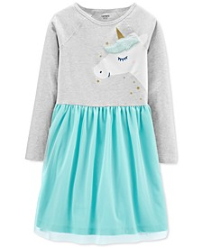 Little & Big Girls Unicorn Tutu Dress