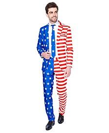Men's USA Flag Americana Suit