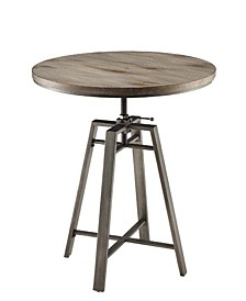 Ajo Bar Table with Swivel Adjustable Height Mechanism