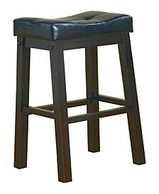 "Brea 29"" Upholstered Seat Bar Stools, Set of 2"