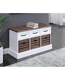 Shelby 3-Drawer Storage Bench