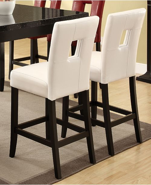 Coaster Home Furnishings Henderson Upholstered Counter Stools, Set of 2