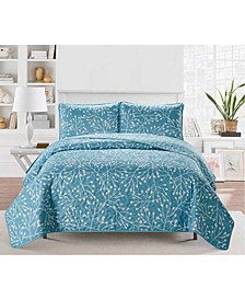 Casual Living Branches 3 Piece Quilt Collection