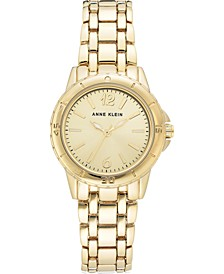 Women's Gold-Tone Bracelet Watch 30mm