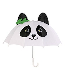 Little and Big Girl Panda Umbrellas