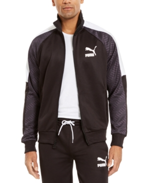 Puma Jackets MEN'S T7 COLORBLOCKED TRACK JACKET