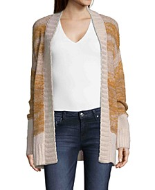 John Paul Richard Open Front Knit Cardigan