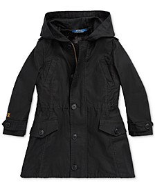Toddler Girls 3-in-1 Cotton Sateen Coat, Created For Macy's