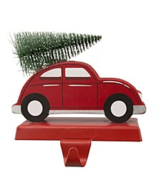 "5.31"" H Wooden Car Stocking Holder"
