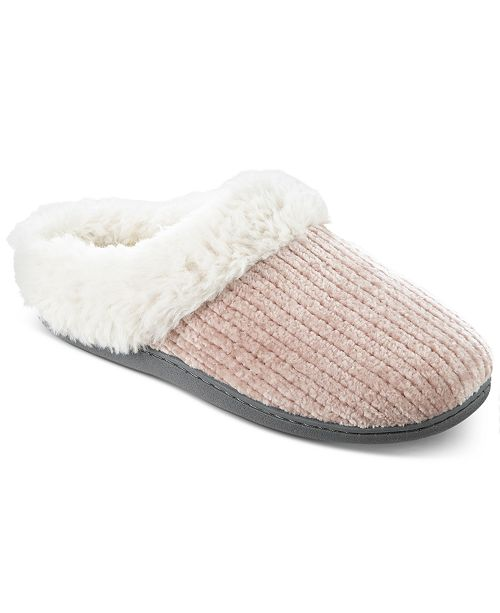 Isotoner Signature Women's Boxed Chenille Quinn Clog Slippers