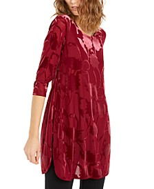 Velvet Burnout Tunic, Created for Macy's