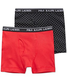 Little & Big Boys 2-Pk. Cotton Boxer Briefs
