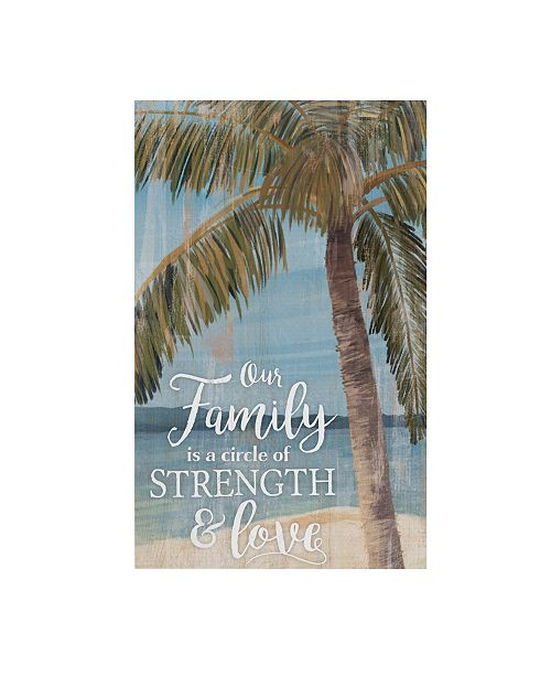 P Graham Dunn Our Family Is A Circle Of Strength And Love Wall Art