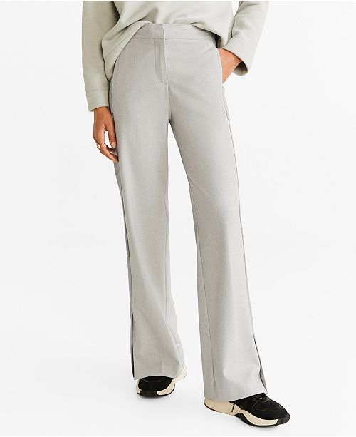 Shop on sale in your size: Mango Slit Hem Trousers Orig