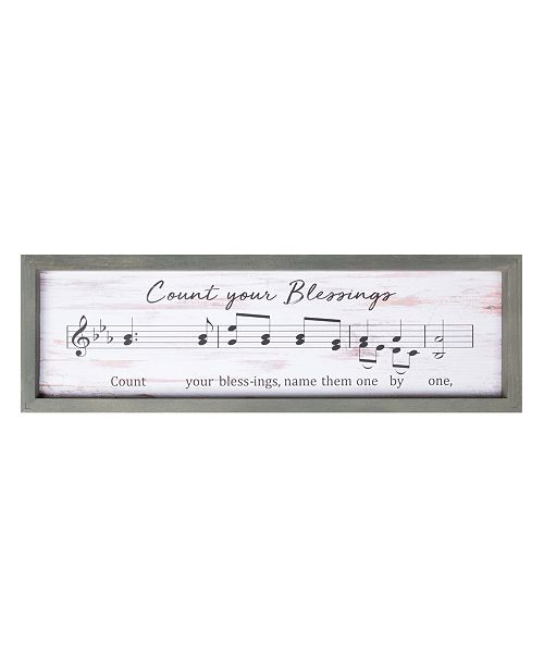 P Graham Dunn Count Your Blessings Wall Art