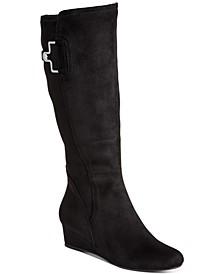 Glada Wedge Dress Boots