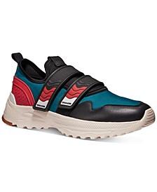 Men's Two Strap Runner Sneakers