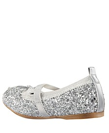 Esther-T Toddler, Little Kid and Big Kid Girls Fashion Ballet Flat with Elestic Strap