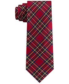 Men's Assorted Holiday Plaid Slim Ties