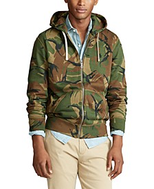 Men's Camo Cotton-Blend-Fleece Hoodie