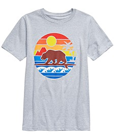Big Boys Surf Bear T-Shirt